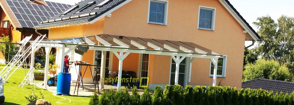 Terrassenberdachung Selber Bauen Mit Glasdach throughout sizing 1500 X 536