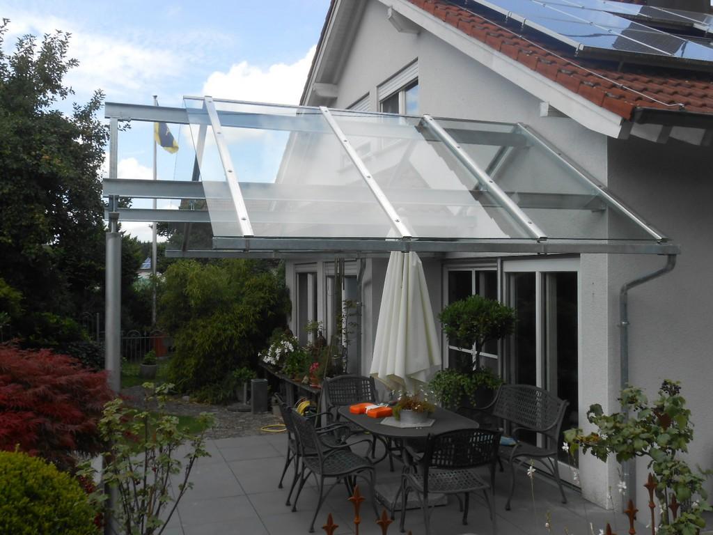 Terrassenberdachungen Und Carports Hermann Gtz Metallbau regarding dimensions 1600 X 1200