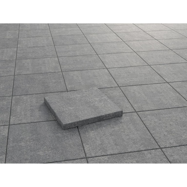 Terrassenplatte Beton Palermo Grau Nuanciert 40 X 40 X 5 Cm Kaufen throughout dimensions 1500 X 1500