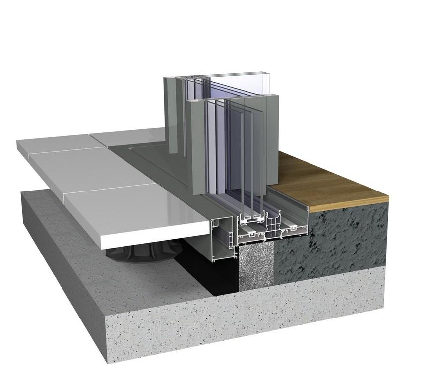 Terrassentr Aus Aluminium Mit Thermischer Trennung Mit within dimensions 2500 X 2200