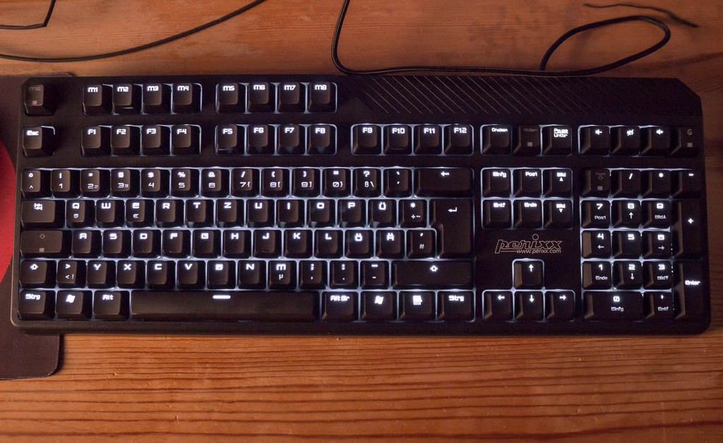 Test Perixx Px 5200 Mechanische Gaming Tastatur Mit Beleuchtung pertaining to sizing 2000 X 1225