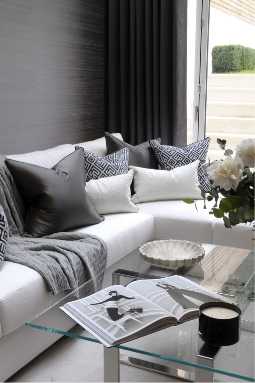 Th2 Designs This Corner Sofa Is Adorned Beautifully With Scatter for size 2576 X 3864
