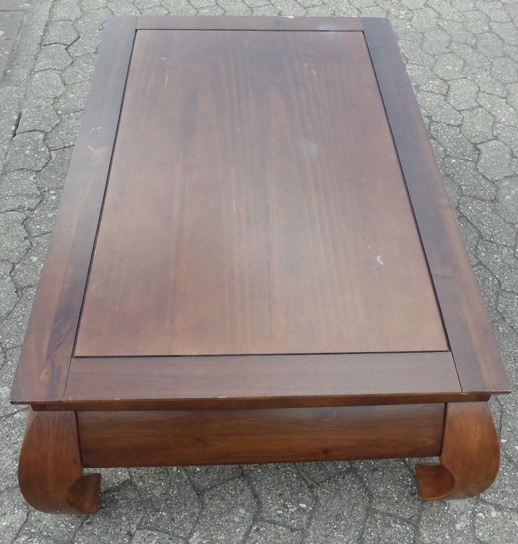 Tisch Couchtisch Beistelltisch Opiumtisch Kolonial Stil Abholung for measurements 1025 X 1077