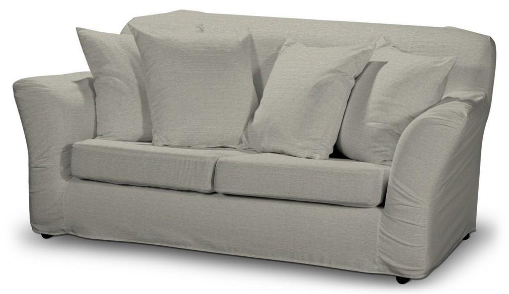Tomelilla 2 Sitzer Sofabezug Nicht Ausklappbar Grau Beige Dekoria intended for size 1290 X 745