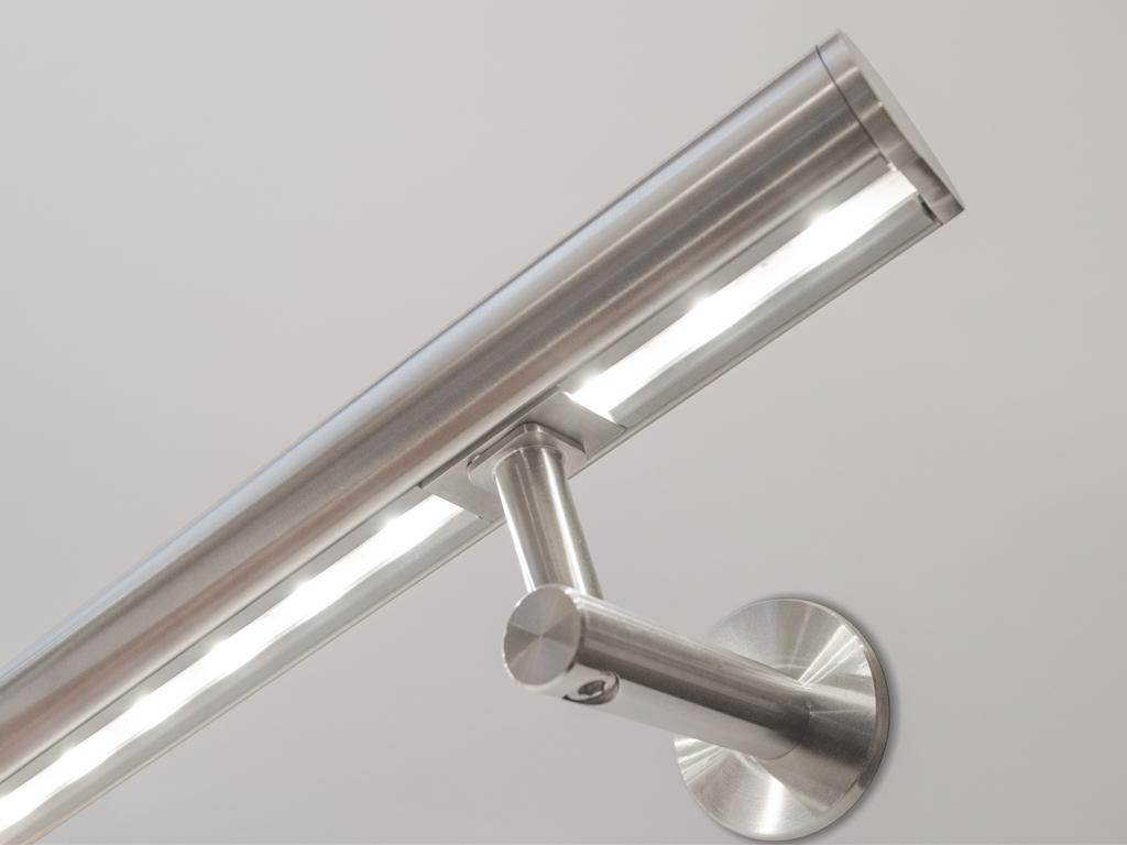 Treba Frewa Edelstahl Handlauf Set Mit 1 Bewegungsmelder Und Led intended for dimensions 1024 X 768