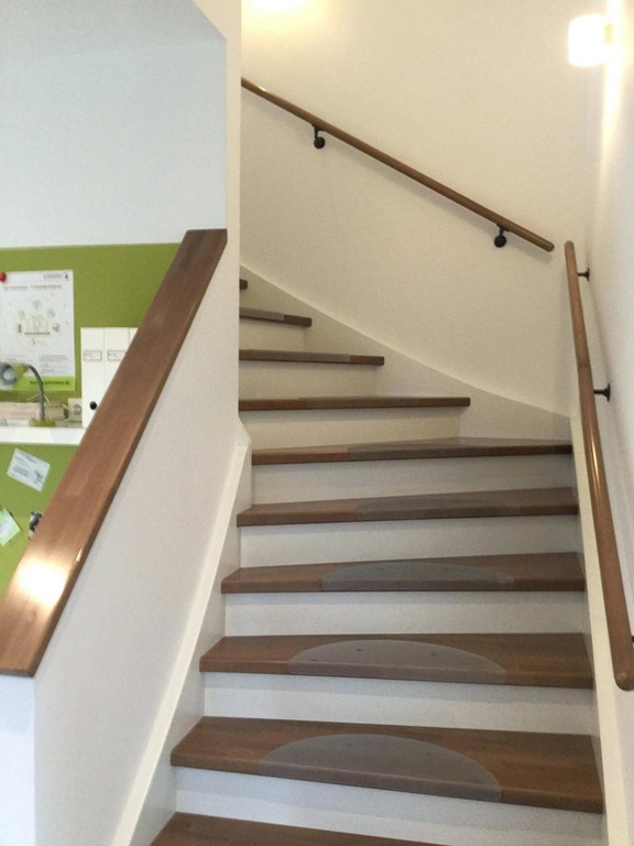 Treppe Dachboden Beste Von In Einem Hanse Haus Musterhaus Hallway for sizing 1875 X 2499