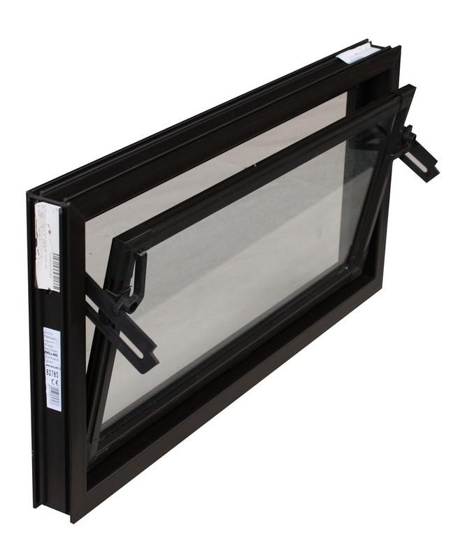 Trobak Kellerfenster Braun 60x50 Cm Einfachverglasung with measurements 1050 X 1207