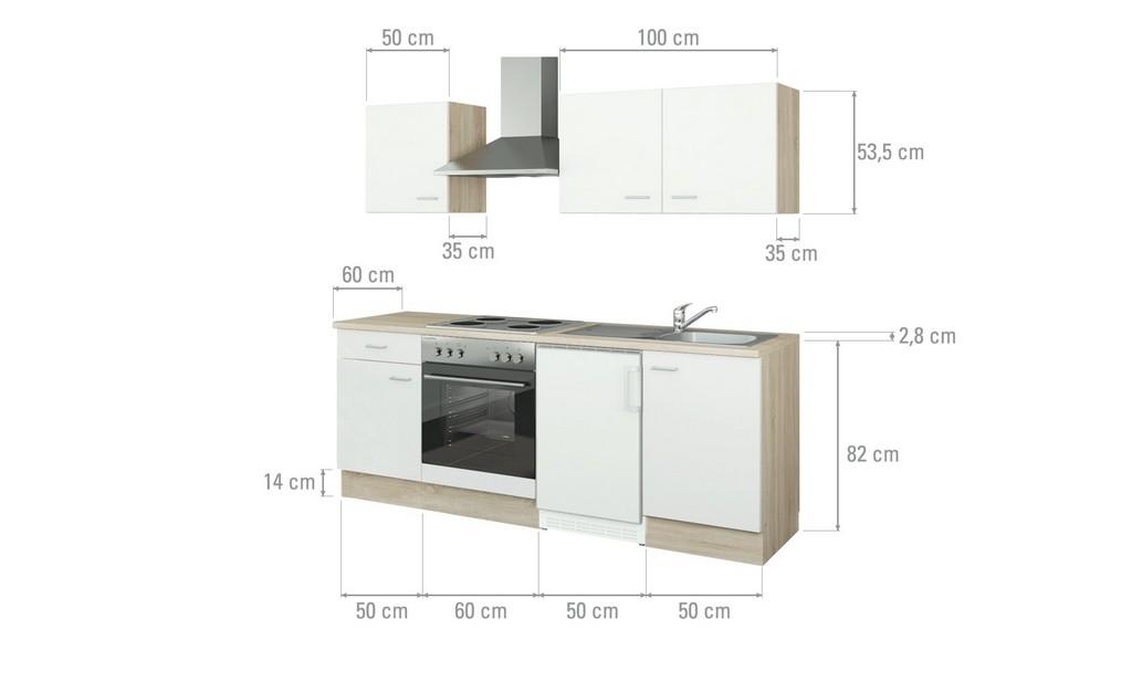 Uno Kchenzeile Mit Elektrogerten Ulm Mbel Hffner intended for size 2000 X 1222