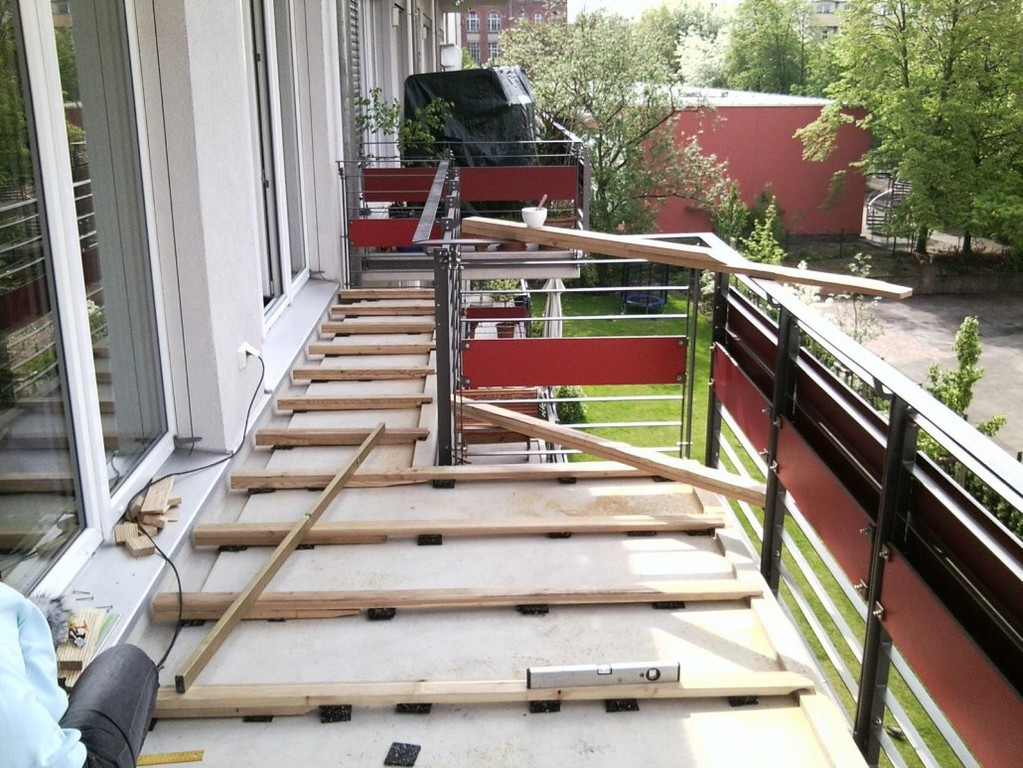 Unterkonstruktion Der Terrassendielen intended for dimensions 1030 X 773