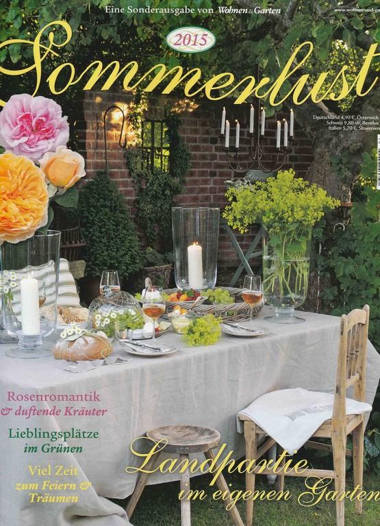 Varia Living Wohnen Garten Sonderausgabe Sommerlust within proportions 2391 X 3309