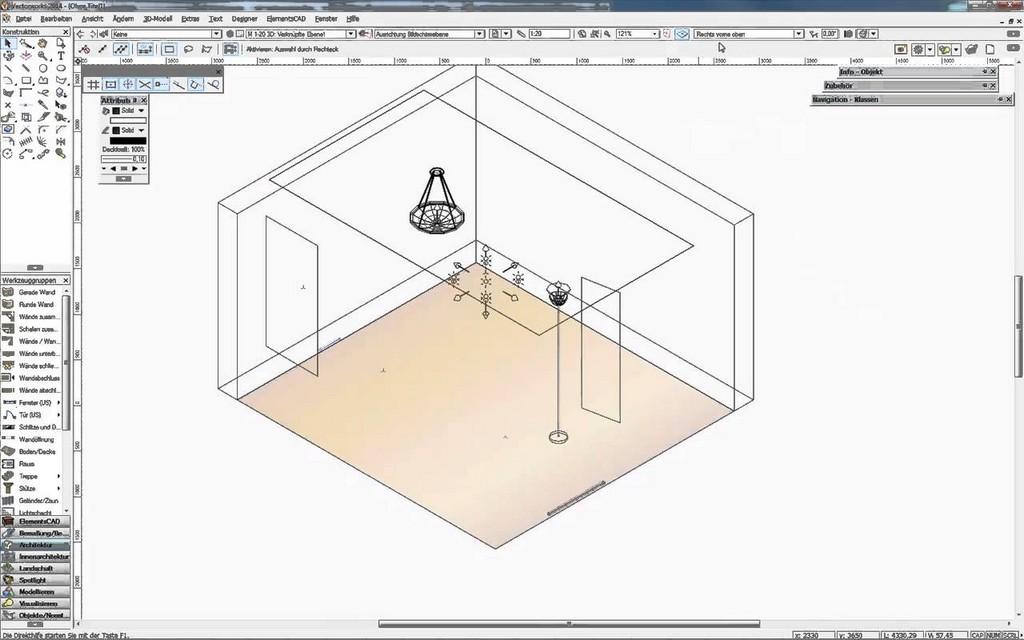 Vectorworks Basic 3d Zeichenprogramm Fr Tischler Schreiner inside measurements 1280 X 800
