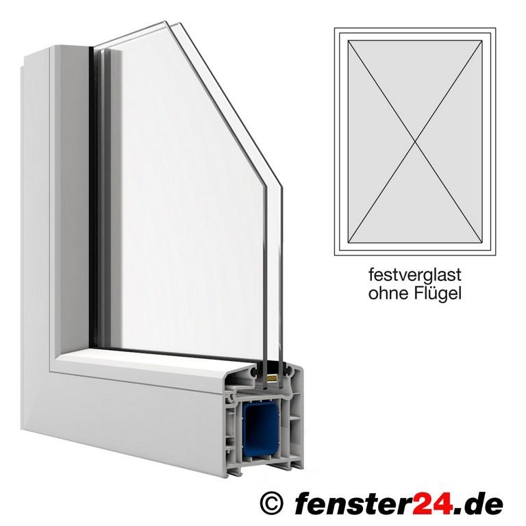 Veka Kunststofffenster Breite 500mm X Whlbare Hhe Feststehend within size 1000 X 1000