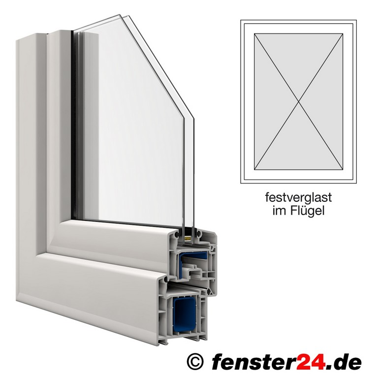 Veka Kunststofffenster Breite 500mm X Whlbare Hhe Festverglast Im for sizing 1000 X 1000