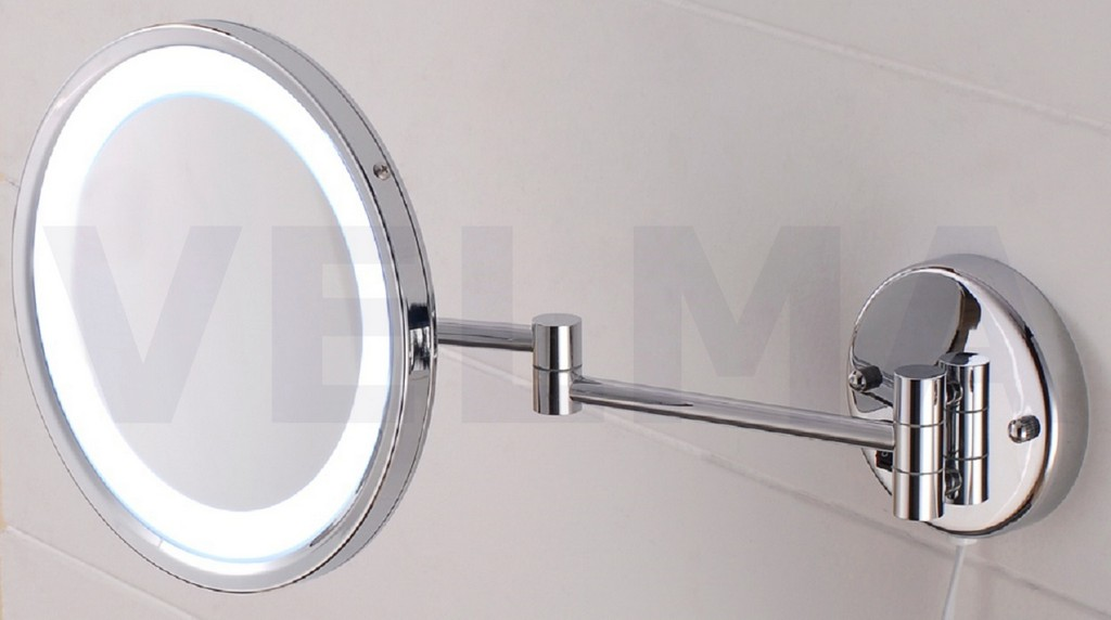 Velma Around Led110 7x Led Kosmetikspiegel Mit Beleuchtung Und pertaining to sizing 1250 X 698