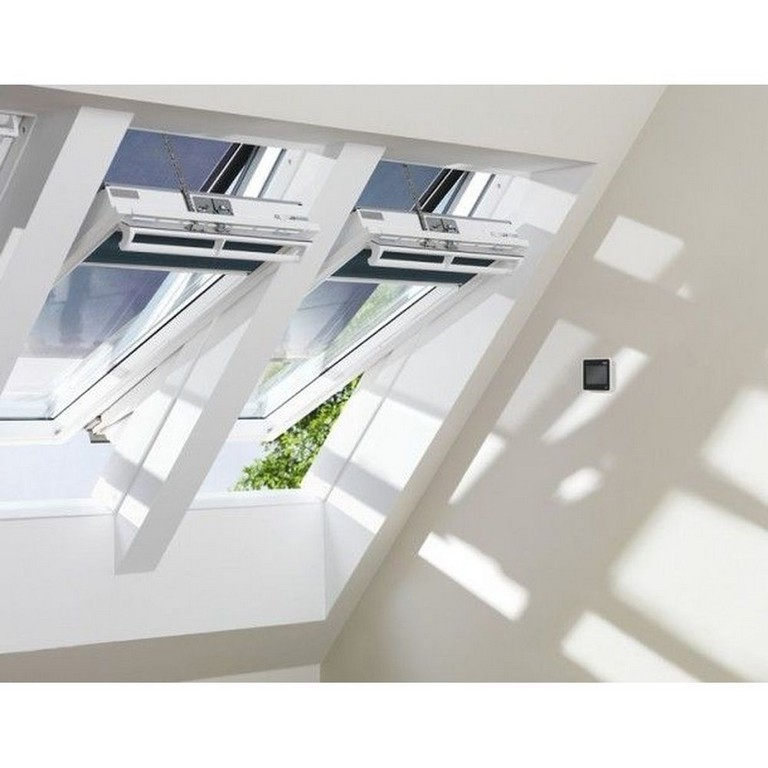 Velux Integra Elektrofenster Ggu Mit Profi Set Plus Baustoffshop inside size 1000 X 1000