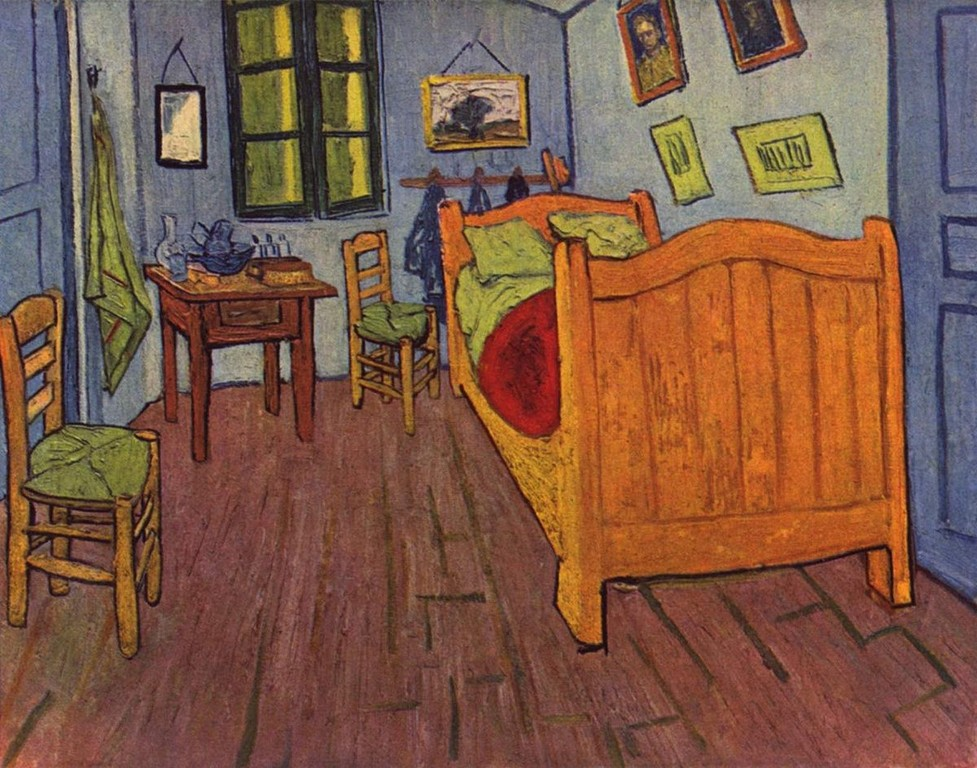 Vincents Schlafzimmer In Arles Wikipedia throughout dimensions 1200 X 943