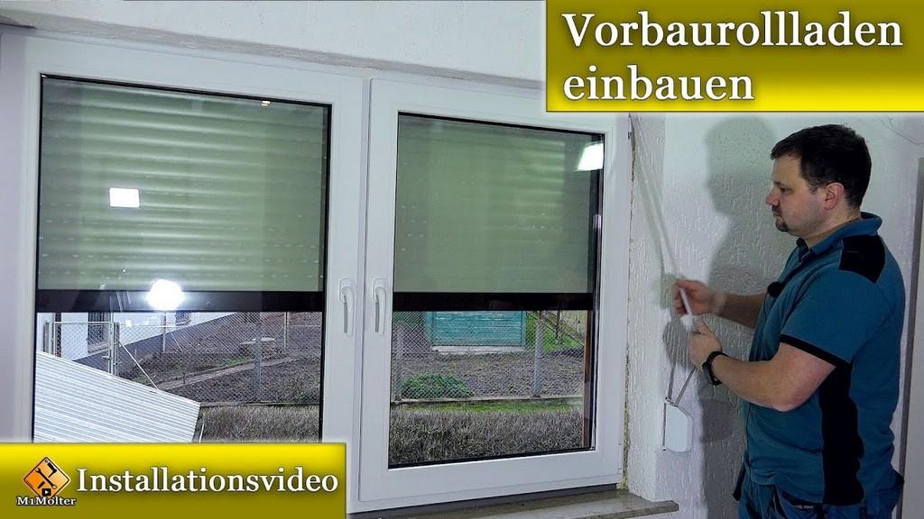 Vorbaurollladen Einbauen Rollladen Einbauen Montageanleitung throughout sizing 1280 X 720