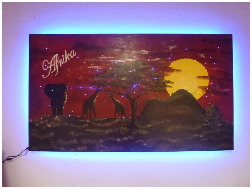 Wandbilder Mit Beleuchtung 506150 Fabelhafte Inspiration Wandbild with proportions 1280 X 960