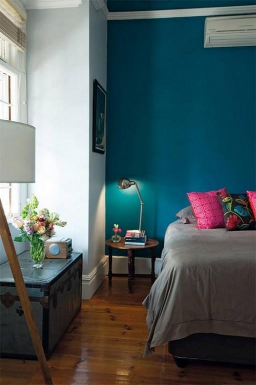 Wandfarbe Petrol Wirkung Und Ideen Fr Farbkombinationen throughout sizing 750 X 1125