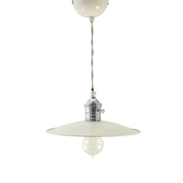 Weie Emaille Lampe Popshop Skandinavische Einrichtung within measurements 900 X 900