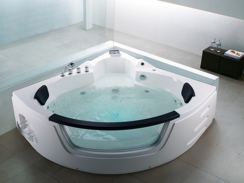 Whirlpool Badewanne Mallorca 12 Massage Dsen Glas Led Massage within proportions 1200 X 900
