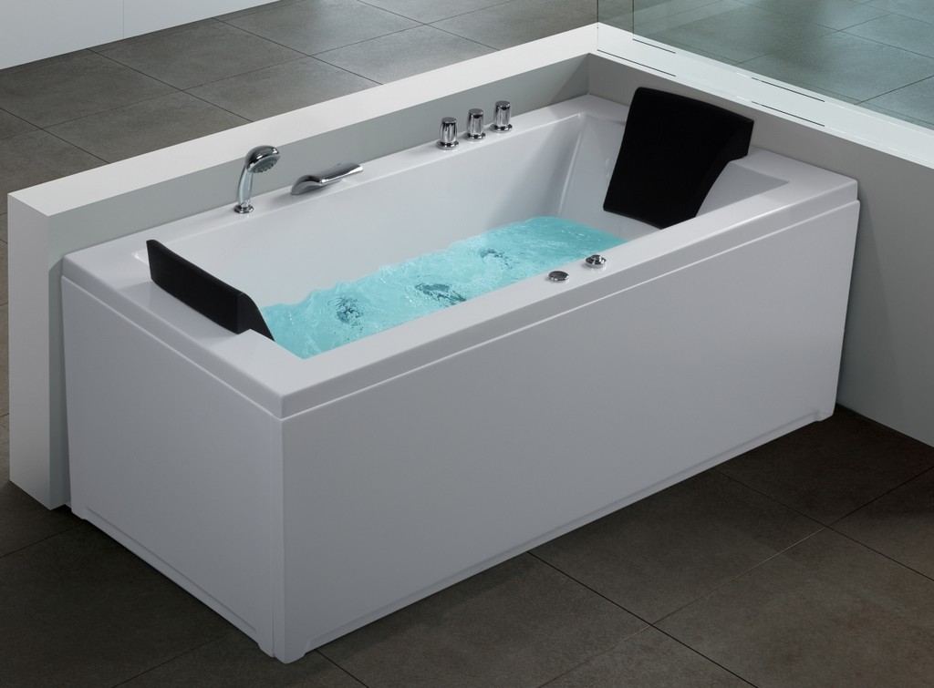 Whirlpool Eck Badewanne 8 Massage Dsen Linke Rechte Eckwanne intended for sizing 1200 X 885