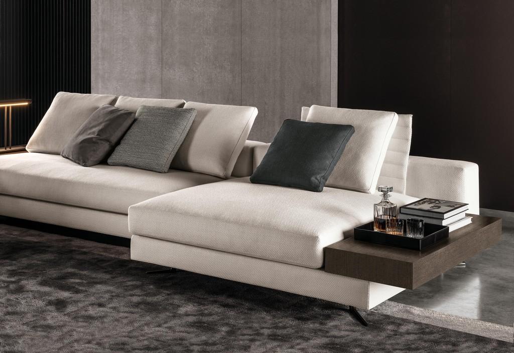 White Sofas Von Minotti Architonic in proportions 3000 X 2060