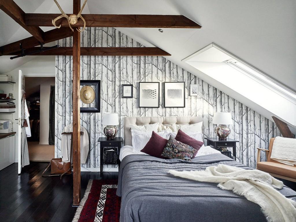 Wohnen Unter Der Dachschrge Sweet Home with regard to proportions 1280 X 960