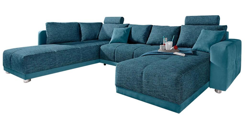 Wohnlandschaft Gemtliches Sofa In U Form Kaufen Bei Cnouchde with regard to proportions 1710 X 900