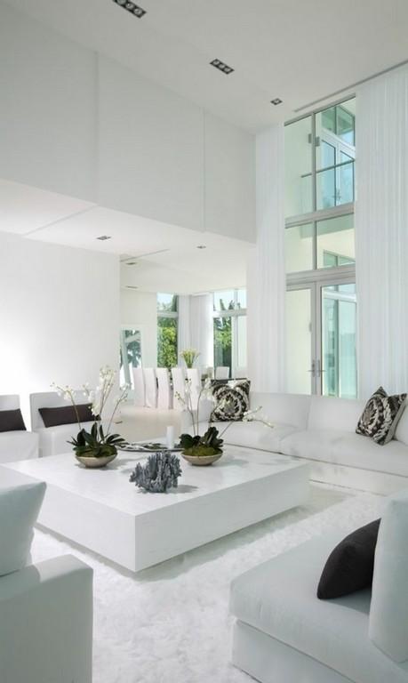Wohnung Einrichten In Weiss Grau Modernes Wohndesign pertaining to sizing 700 X 1172
