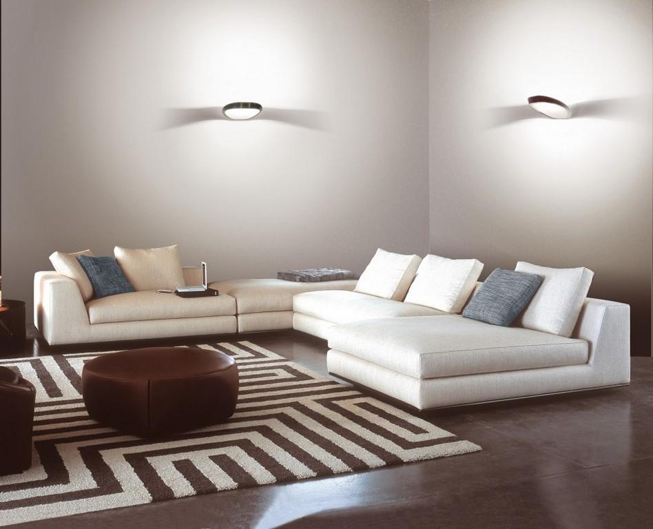 Wohnzimmer Nur Mit Wandleuchten Hause Gestaltung Ideen intended for dimensions 988 X 800