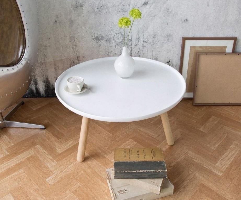 Wohnzimmertisch Alexej Weiss Beine Natur 78cm Bauhausstil pertaining to dimensions 1200 X 1000