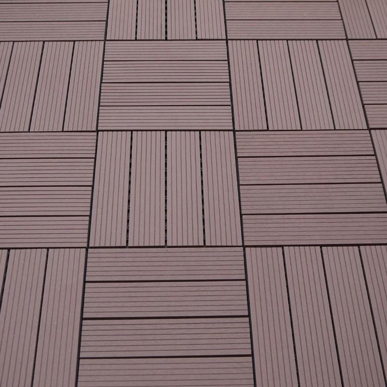 Wpc Terrassen Fliesen Braun Sichtschutz Weltde inside proportions 1280 X 1280