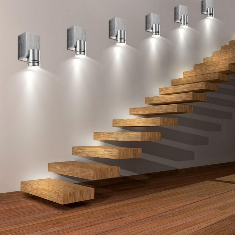 Wunderbar Beleuchtung Treppenhaus Led Mit Bewegungsmelder Lampen Fr intended for dimensions 1000 X 1000