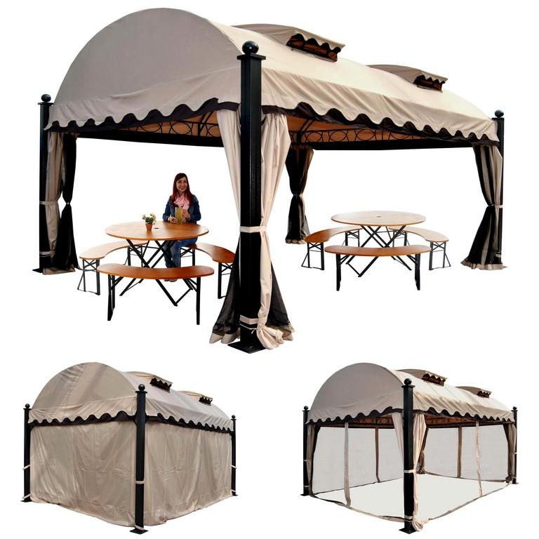 Wunderschne Inspiration Garten Pavillon 6x3m Und Beste Schn Bilder with proportions 2560 X 2560