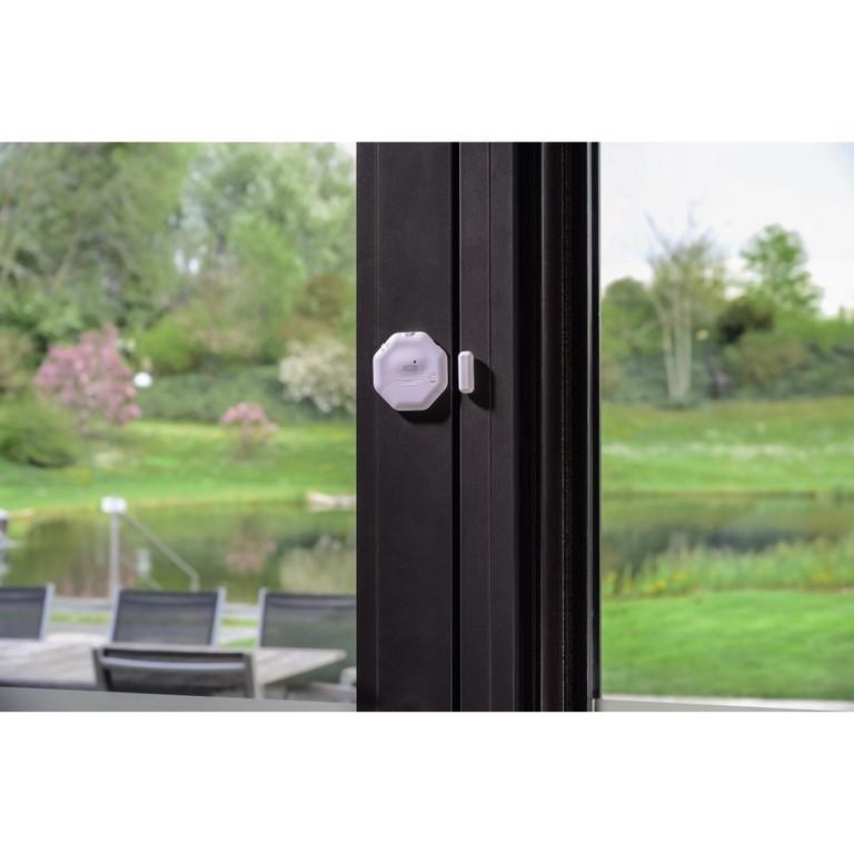 Xavaxeu 00111985 Xavax Fenster Tr Alarm Sensor Flach Xavax inside proportions 1100 X 1100