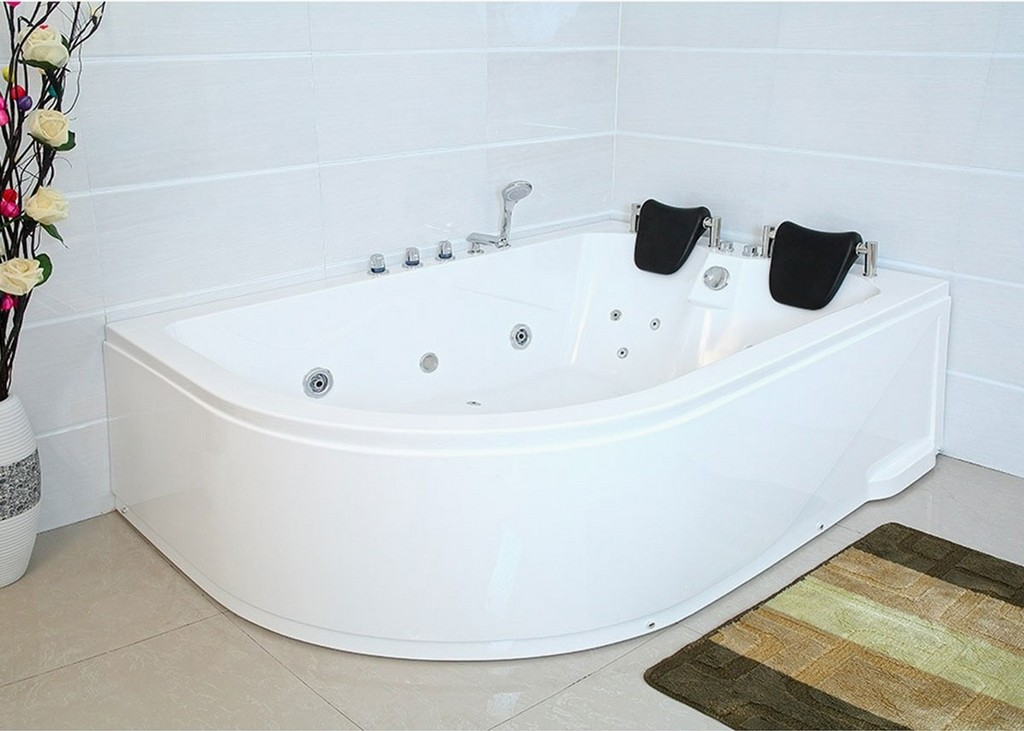 Xxl Luxus Whirlpool Badewanne 180x120 Cm Mit Armaturen Fr Bad with sizing 1200 X 857