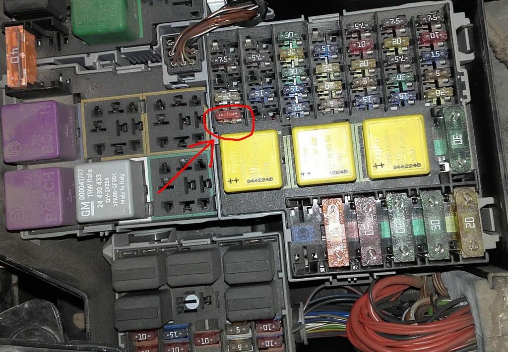 Zentralverriegelung Und Fensterheber Funktionieren Nicht Opel pertaining to proportions 1600 X 1109