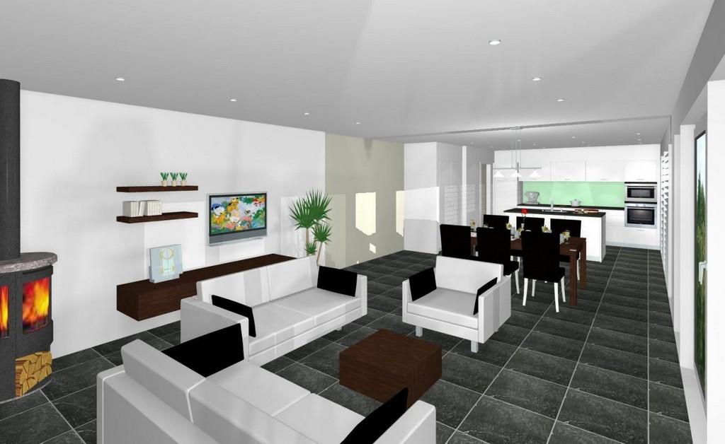 Wohnzimmer Einrichten 40 Qm Haus Ideen