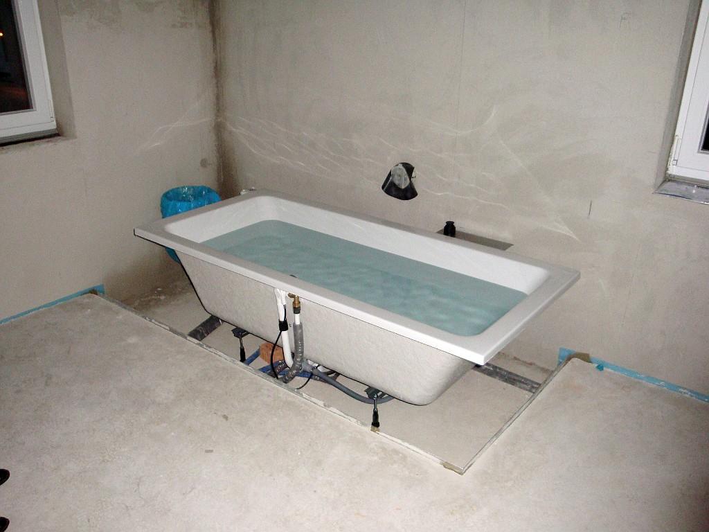 badewanne montieren - haus ideen
