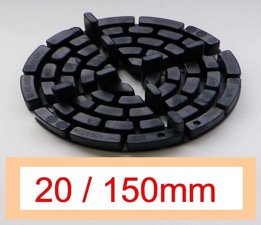 30 Plattenlager Dd19 10 Hhe 20mm 150mm Fuge 4mm Steg 10mm inside proportions 1000 X 860
