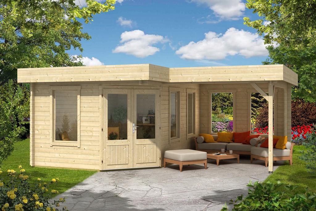 5 Eck Gartenhaus Leelo 40 Mit Anbau inside sizing 1600 X 1067