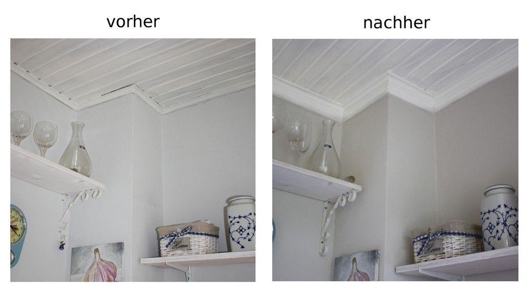 Andrea Meyer Diy Projekt Kchenrenovierung Zierleisten Als with regard to sizing 1500 X 850