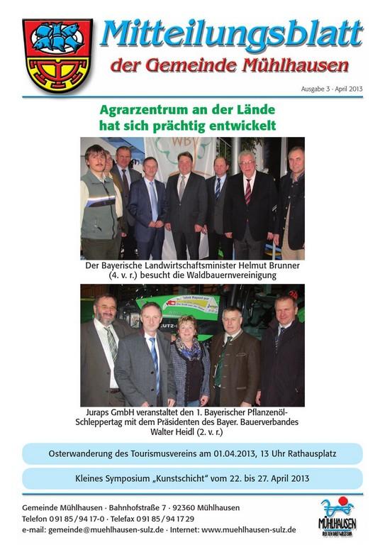 April 2013 Mitteilungsblatt Mhlhausen Druckerei Fuchs Gmbh Issuu regarding measurements 1060 X 1500