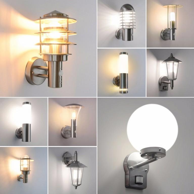 Auenlampe Auenleuchte Garten Led E27 Wandleuchte Edelstahl Lampe with measurements 1600 X 1600