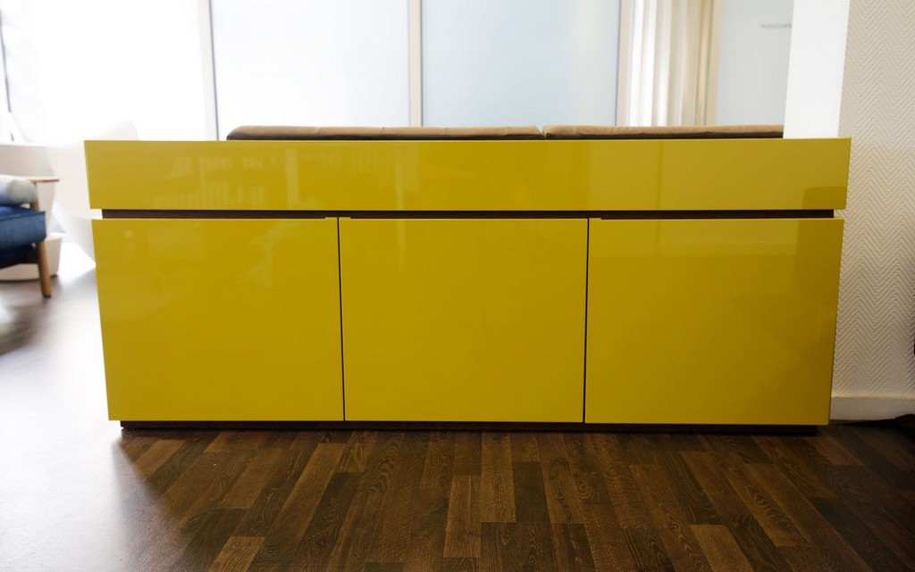 Auf Lager Sideboard Cidori 115 In Senfgelb Mbel Schrnke with regard to sizing 1400 X 877