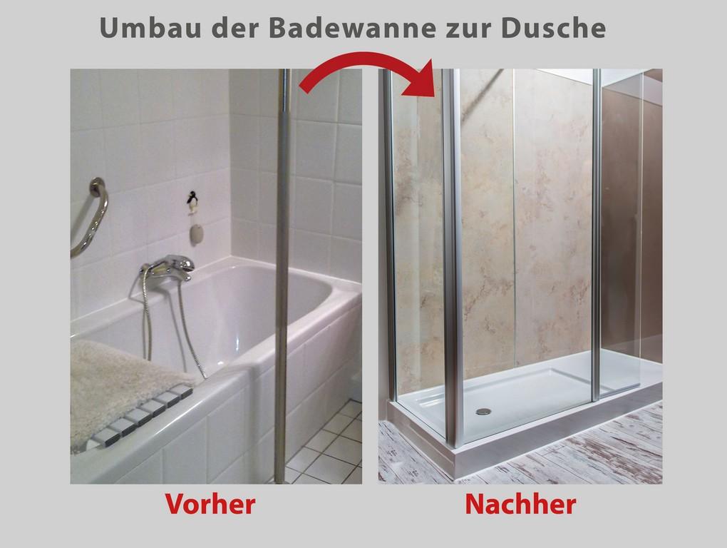 Aus Ihrer Alten Badewanne Wird Ein Gerumiges Duschvergngen with regard to sizing 3035 X 2285