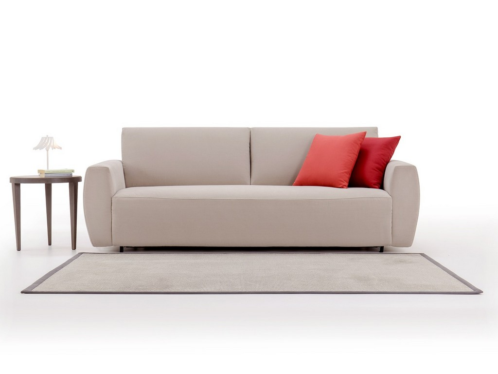 Austin Is A Pull Out Sofa Bed With Big Cushions Homeplaneur with regard to dimensions 1500 X 1125