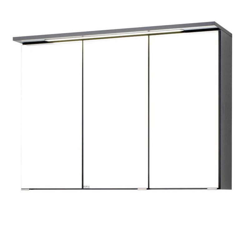 Bad Spiegelschrank Bologna 3 Trig Mit Led Lichtleiste 90 Cm in sizing 1540 X 1500