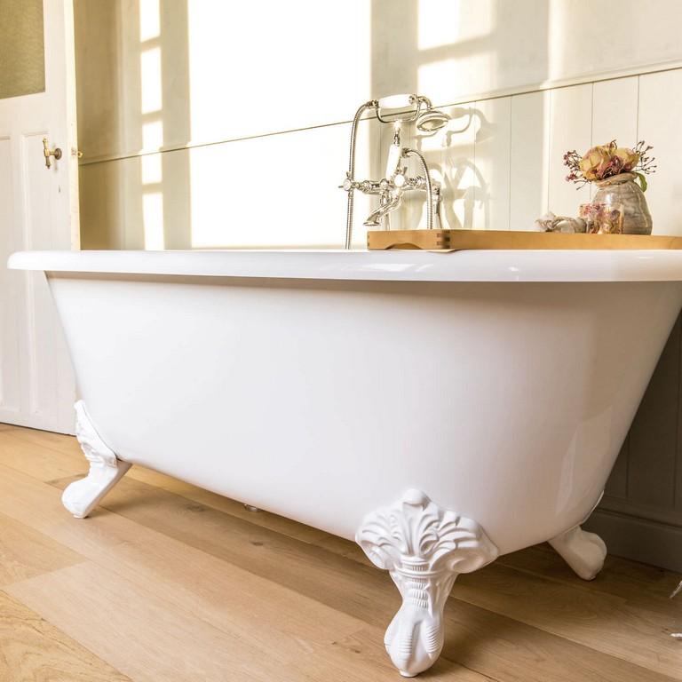 Badewanne Auf Fen Oval Verbundwerkstoff Stein Lonba pertaining to size 1500 X 1500